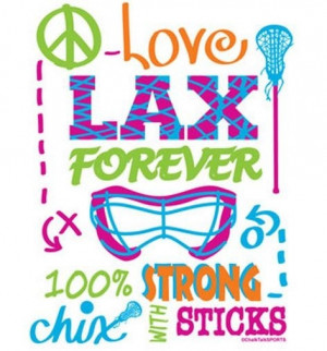 ... will!!! Lovee lax and ringette without those I would be like this