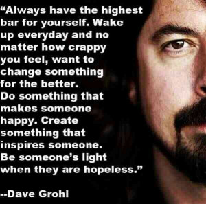 Dave Grohl the legend #wisdom