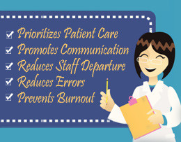 ... nursing allows members of the team to coordinate with one another and