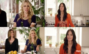 Cougar Town on Charity Work