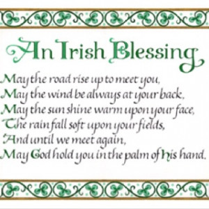 Happy St. Patrick's Day !!! May the road rise up to meet you...: The ...