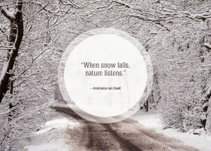 When snowfalls quote wallpaper of 2015