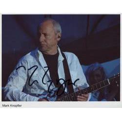 Mark Knopfler Signed Photo