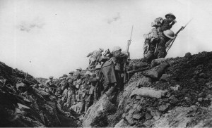 Canadian Soldiers going