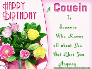 wishes for cousin brother - Happy Birthday Cousin Bro Message, Quotes ...