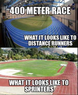 Track and field this is so true but I see it both ways because I am a ...
