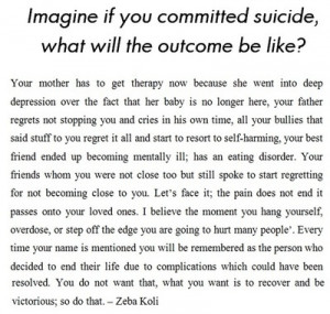 Sad Suicide Quotes Tumblr Suicide quotes tumblr picture