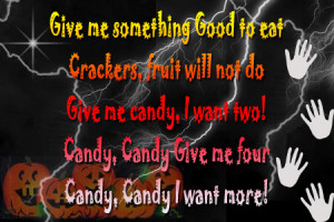 Halloween Day Trick or Treat Quotes and Sayings