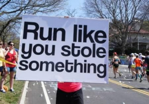 Funny & Inspiring Running Quotes on Runners T-shirts