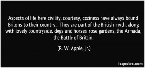 More R. W. Apple, Jr. Quotes