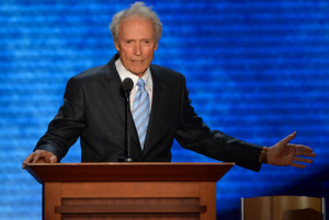 Clint Eastwood at the GOP convention The Republican National Committee