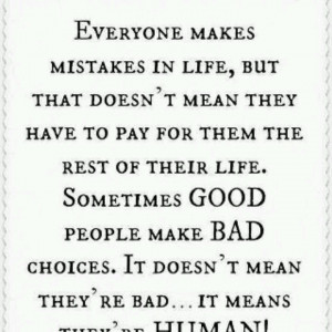 Love this quote about mistakes... great outlook to have on life