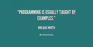 Am Programmer