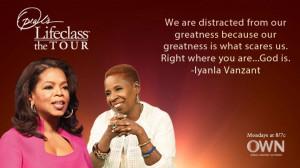 Iyanla and Oprah