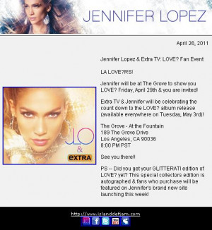 ... Like It (On The Floor): Jennifer Lopez is Sending Her