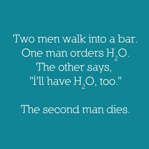 Chemistry Bar Joke