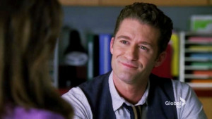 hate to admit it but i shockingly liked will schuester in this ...