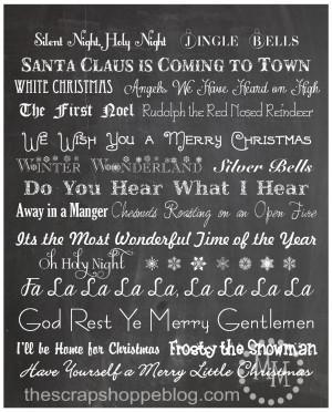Displaying 16> Images For - Printable Christmas Song Games...