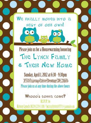 Housewarming Invitations Free Templates