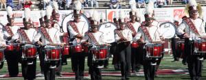 photo of the UMass Drumline.