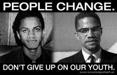 Malcolm X, activist/author. A favorite because he was not just ...