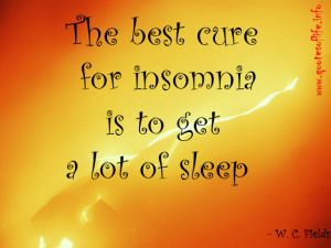 Funny Insomnia Quotes