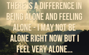 quotes about feeling alone - Google Search