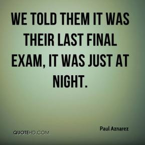 final exam quotes Exam Quotes
