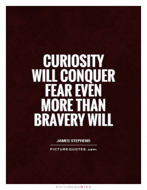 Fear Quotes Bravery Quotes Curiosity Quotes James Stephens Quotes