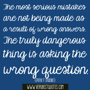 The most serious mistakes (mistake quotes)