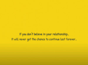 Last Chance Quotes If you dont believe in your