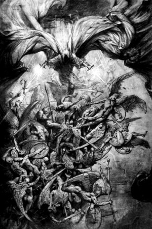 Fallen Angels vs Demons | Angels vs Demons Drawings http://www.tumblr ...