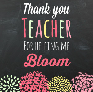 Teacher Appreciation Gift Idea and Printable from The Educators' Spin ...