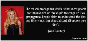 Stupid Ann Coulter Quotes