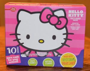Betty Crocker's Hello Kitty Fruit Snacks Review + Giveaway