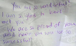 Handwritten Love Quotes A handwritten