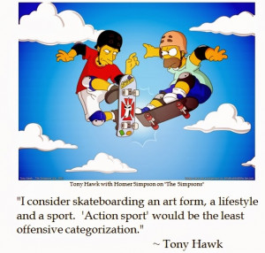 Tony Hawk on Skateboarding