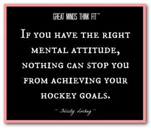 Hockey Attitude Quote