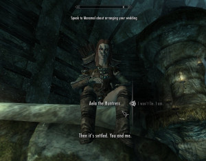 On my way out of the cave, I encountered another Companion NPC, the ...