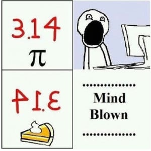 pie pi math joke