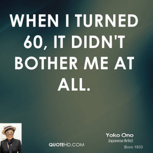 Funny Quotes About Turning 60