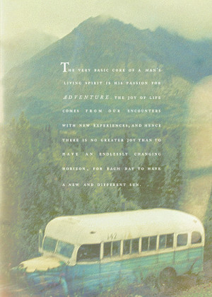 Showing Gallery For Chris Mccandless Into The Wild Quotes