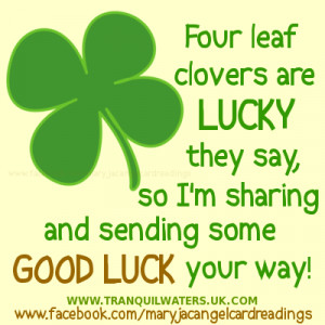 Good Luck is the result