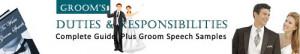 Wedding Speech Digest │ Duties and Responsibilities of a Groom