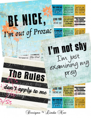 NEW- Say it Like it is 2 (.75 x .83 scrabble) Sassy Quotes Images Buy ...