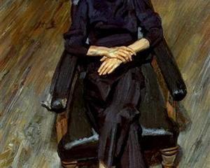 Sofa Lucian Freud 1961 Bella 1986 1981