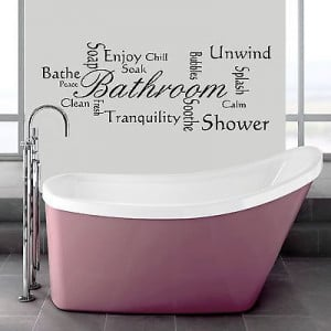 quote wall quotes for a bathroom wall bathroom wall wording