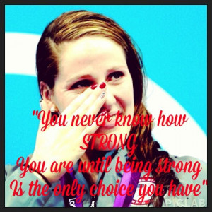Missy franklin inspirational quote