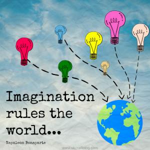 Child Imagination Quotes Imagination rules the world!