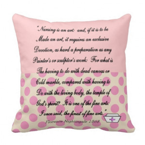 nurse_pillow_with_florence_nightingale_quote ...